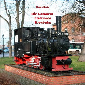 """Titelseite Broschüre """"Die Gommern-Pretziener Eisenbahn"""""""