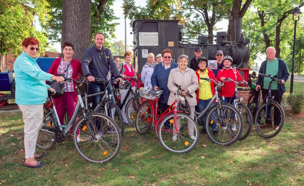 Erste Radtour des Heimatvereins Gommern am 20.92020 (Foto T. Schäfer).